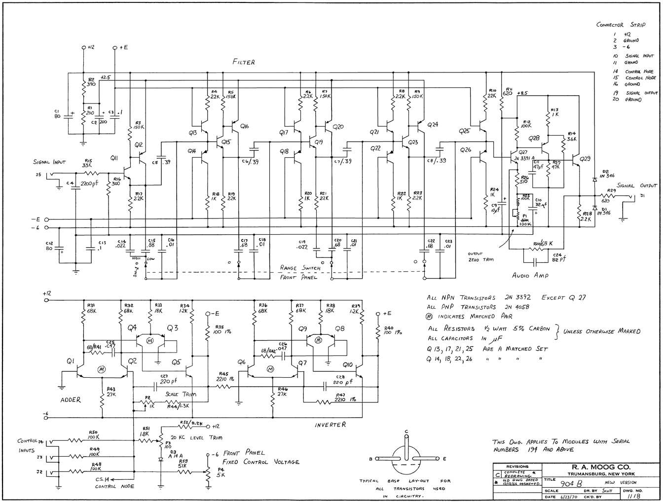 synthesizer schematics user and service manuals rh hylander com User Manual Template iPad Manual